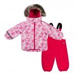 Куртка и полукомбинезон Lassie by Reima розовый