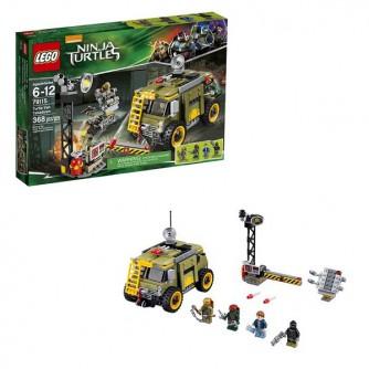 Конструктор LEGO Ninja Turtles 79115 Освобождение фургона черепашек