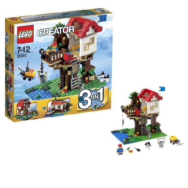 Lego creator 31010 лего домик на дереве