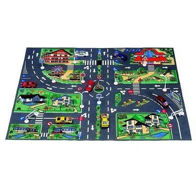 Дидактическое пособие «Цветные коврики для игр с пробками» - Для воспитателей детских садов