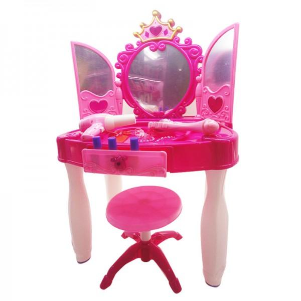 Детский туалетный столик с зеркалом для девочки