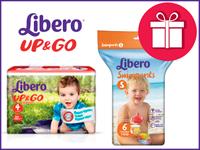 Купи трусики Libero UP&GO и получи трусики для плавания в подарок