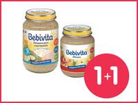 Купи 2 баночки пюре Bebivita — одна из них в подарок