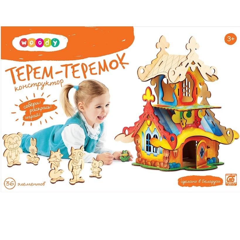 Конструктор Терем-Теремок со скидкой