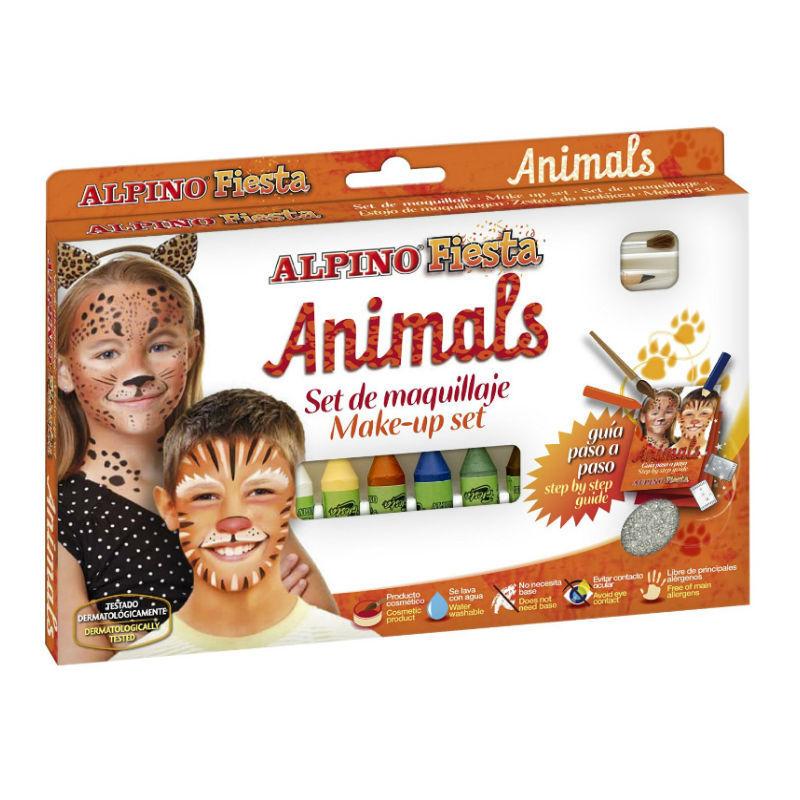 Детский аквагрим Животные со скидкой