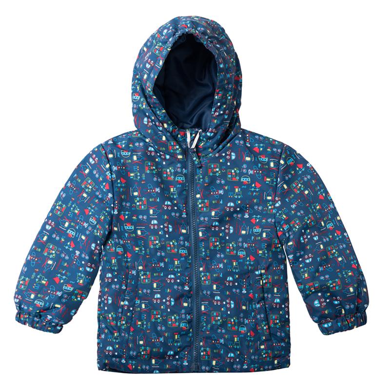 Куртка синяя со скидкой