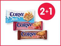 При покупке 2 батончиков Corny — третий в подарок!