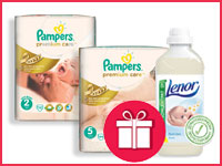 Купи Pampers Premium Care — кондиционер в подарок!